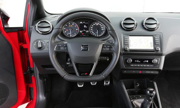 Seat Ibiza Cupra Facelift: Test   autozeitung.de