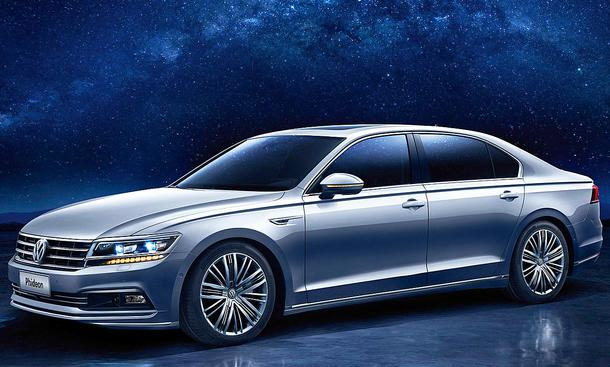 Luxuslimousine VW Phideon für China