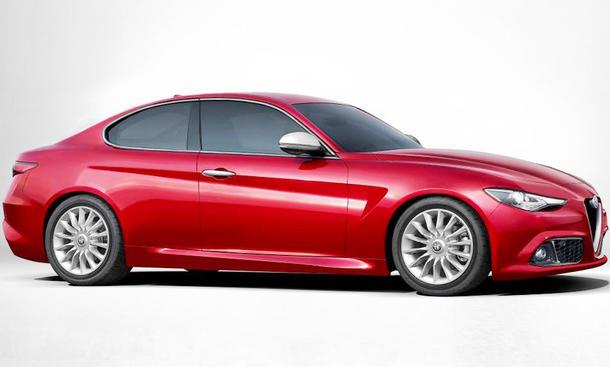 Alfa Romeo Giulia: Designstudie