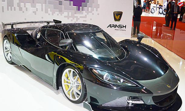 Die schnellsten Autos der Welt