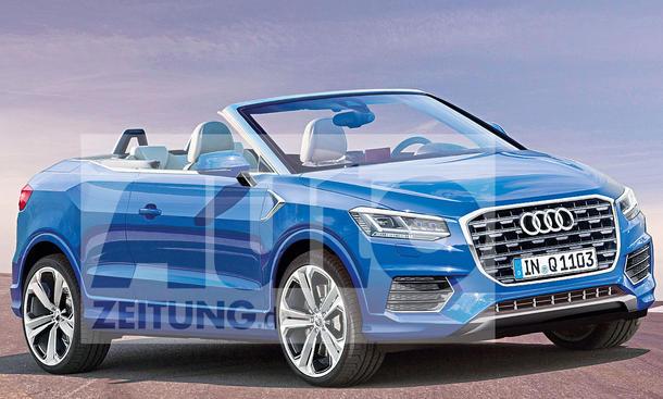 Audi Q2 oben ohne