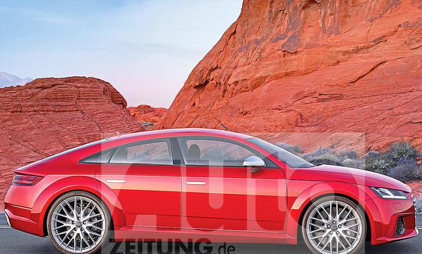 Audi TT Sportback (2017): Illustration