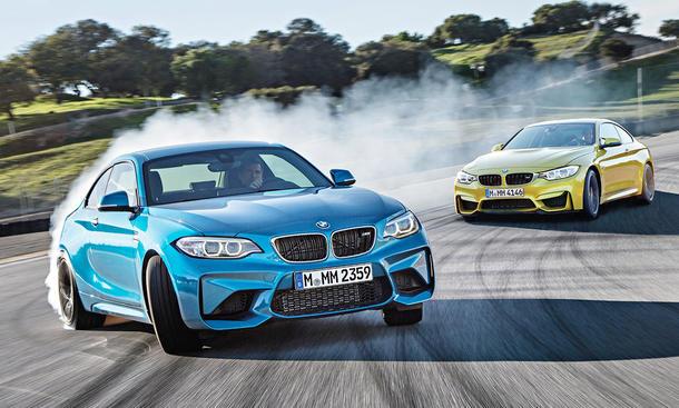BMW M2/BMW M4: Vergleichstest