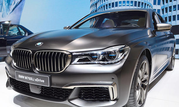 BMW M760Li XDrive 2016 Preis Update