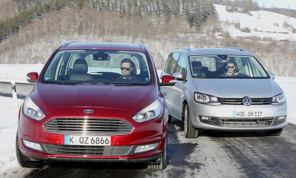 Ford Galaxy gegen VW Sharan