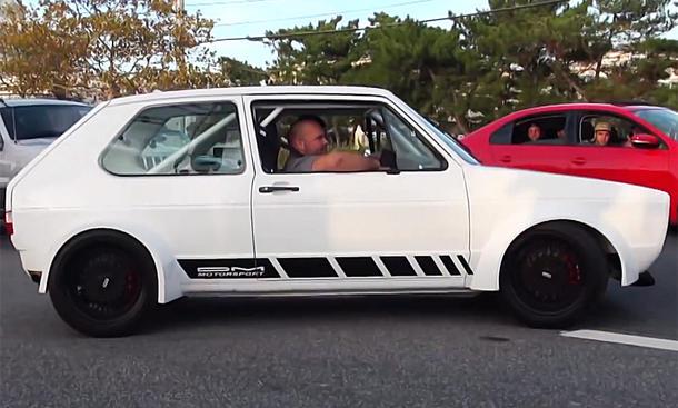Golf I GTI mit 340 PS