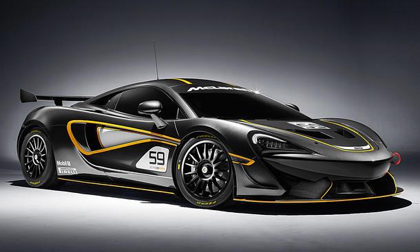 Supersportwagen McLaren 570S GT4