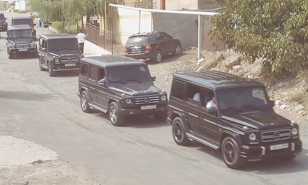 Mercedes G-Klasse in Armenien
