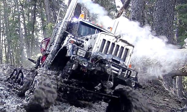 Ketten-Truck
