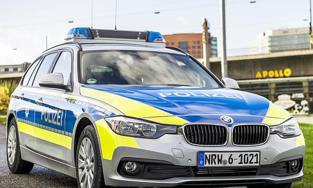 BMW 318d Touring bei der Polizei NRW