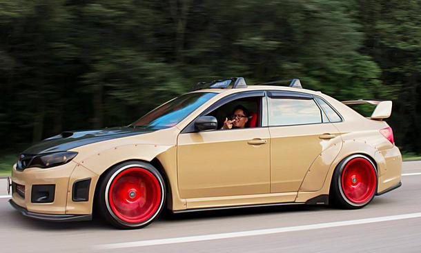 Subaru Impreza WRX STI: Tuning