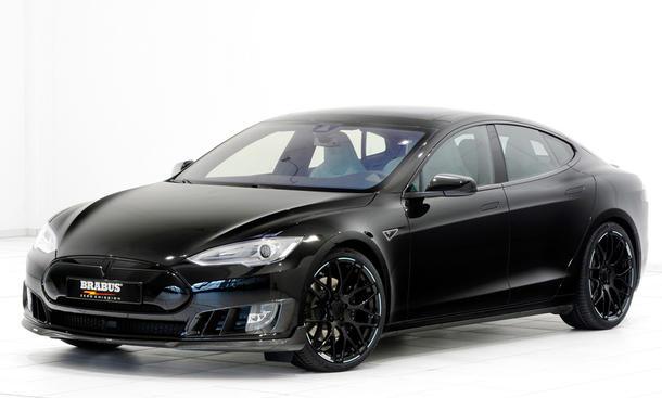 Tesla Model S: Tuning von Brabus