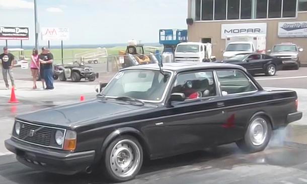 Volvo 240 mit Corvette-Motor