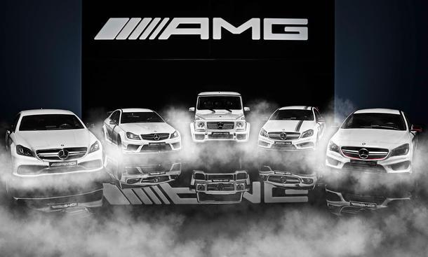 Mercedes-AMG baut Flotte aus