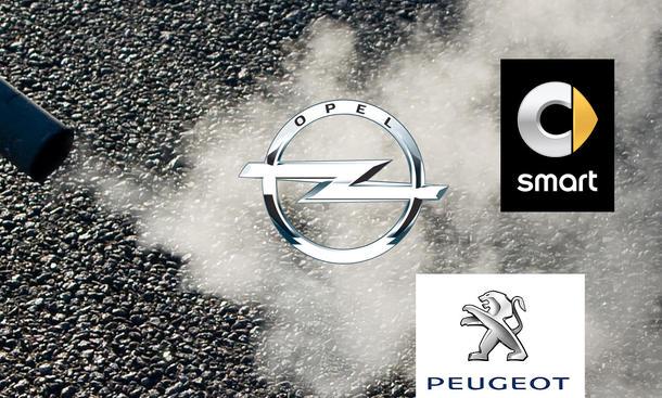 opel/smart/peugeot: zu hohe abgaswerte | autozeitung.de