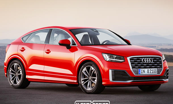 Audi Q2 Spotback: Illustration