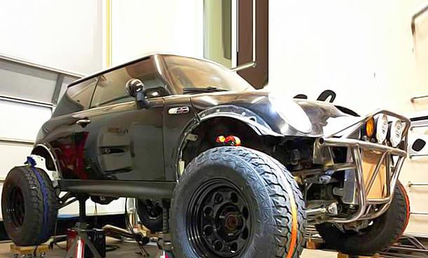 Mini Cooper S als Baja-Umbau