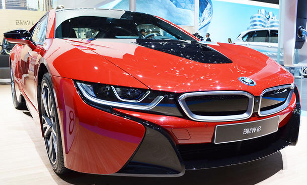 BMW i8 Protonic Red Edition (2016)