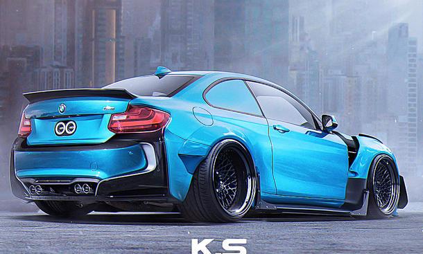 BMW M2 von RWB