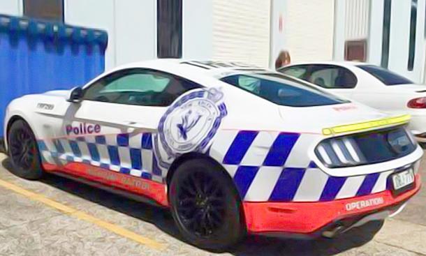 Ford Mustang GT fällt bei Polizei-Test durch