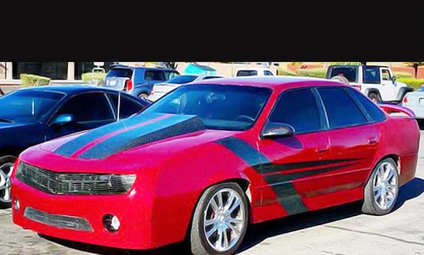 Ford Taurus: Umbau auf Chevrolet Camaro