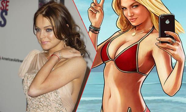 Lindsay Lohan GTA 5 Klage