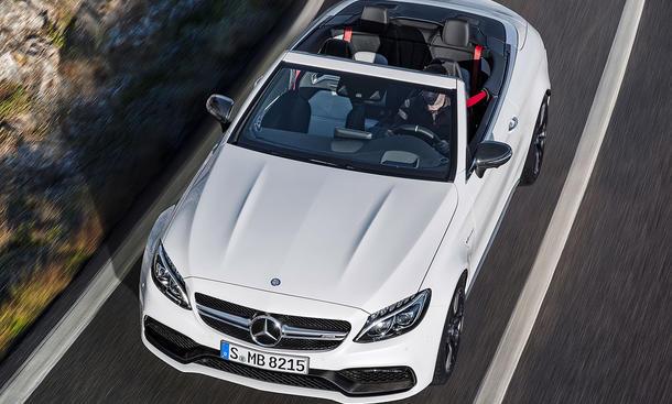 Mercedes-AMG C 63 Cabrio (2016)
