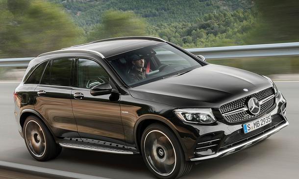 Mercedes Amg Glc 43 4matic 2016 Preis Autozeitungde