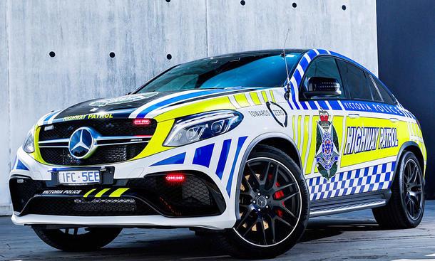 Fetter Polizei-GLE