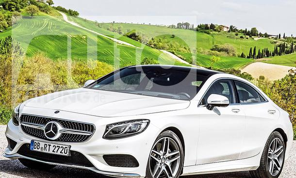 Mercedes CLS (2019): Illustration