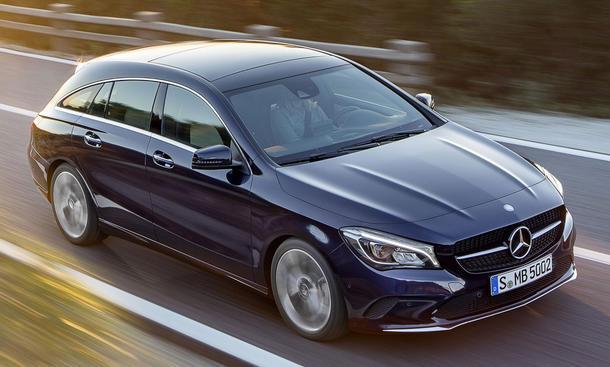 Facelift für den Mercedes CLA