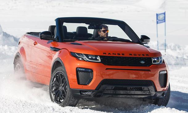 Neues Range Rover Evoque Cabrio