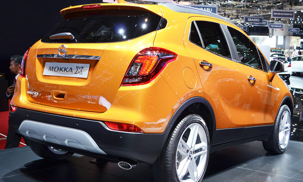 opel mokka x 2016 preis und marktstart update bild 4. Black Bedroom Furniture Sets. Home Design Ideas
