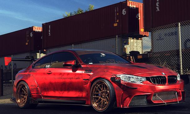 BMW M4 Extrem-Tuning