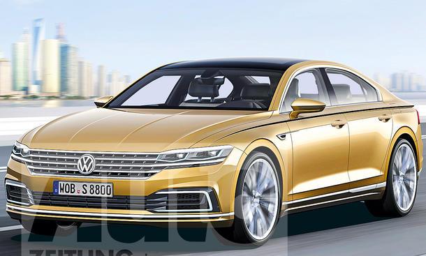 VW Phaeton (bis 2021) Illustration