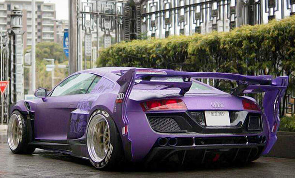 Audi r8 tuning von garage ill for Garage audi tours
