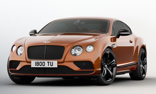 Bentley präsentiert Black Edition