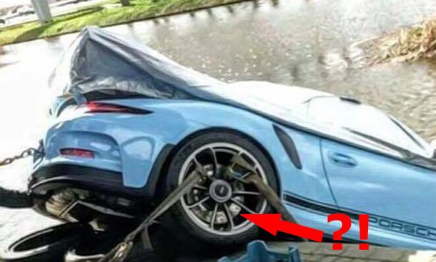 Porsche 911 Gt3 Rs Autohaus Unfall Autozeitung De