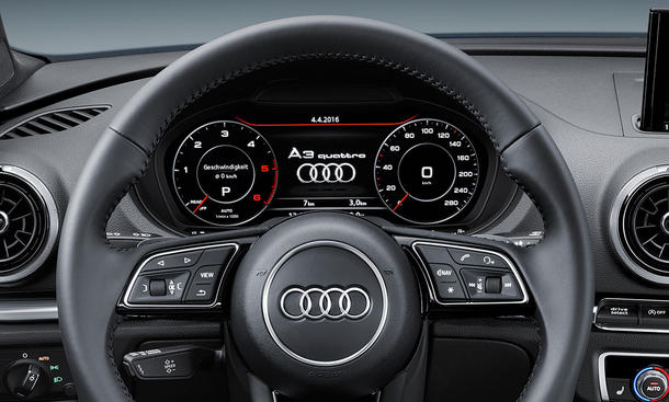 audi a3 facelift 2016 preis update bild 14. Black Bedroom Furniture Sets. Home Design Ideas