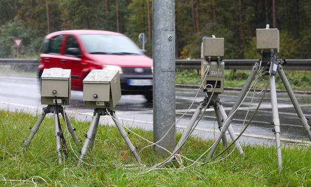 Achtung: Bundesweite Radarfallen