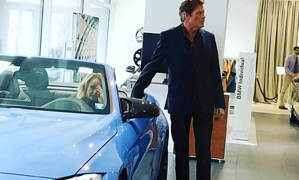 Hasselhoff interessiert sich für BMW M4