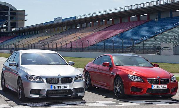 BMW M5/M6: Nur noch mit Automatik