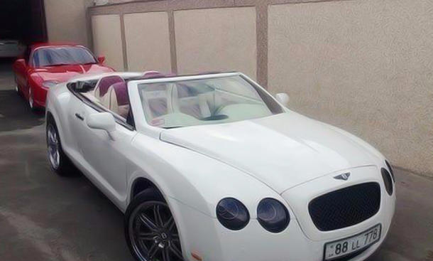 Bentley Continental GTC als Kit Car