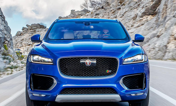 Neuer Jaguar F-Pace