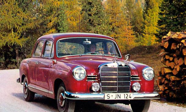 "Mercedes 180 ""Ponton-Benz"""