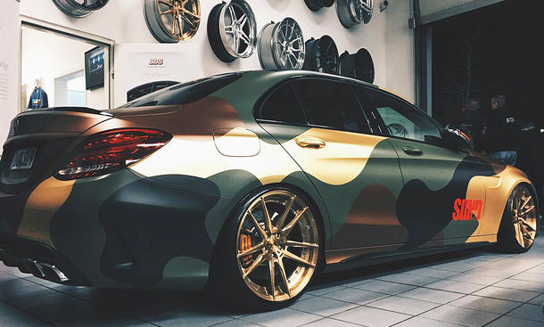 Mercedes-AMG C 63 S von Sidney Industries