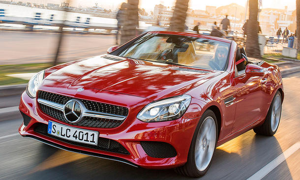 Neuer Mercedes SLC Roadster
