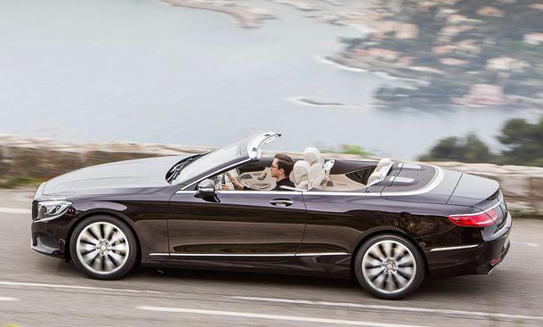 neues mercedes s klasse cabrio erste fahrt bild 3. Black Bedroom Furniture Sets. Home Design Ideas