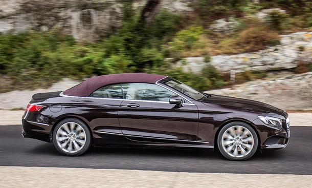 neues mercedes s klasse cabrio erste fahrt bild 7. Black Bedroom Furniture Sets. Home Design Ideas