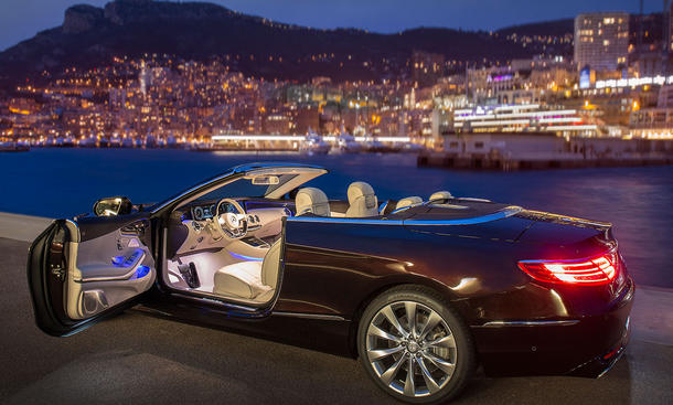 neues mercedes s klasse cabrio erste fahrt bild 15. Black Bedroom Furniture Sets. Home Design Ideas
